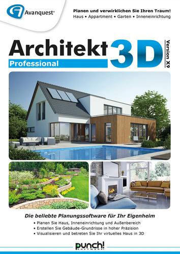 Verpackung von Architekt 3D X9 Professional [PC-Software]