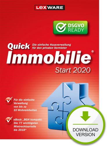 Verpackung von Lexware QuickImmobilie Start 2020 [PC-Software]