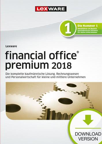 Verpackung von Lexware financial office premium 2018 Jahresversion (365-Tage) [PC-Software]