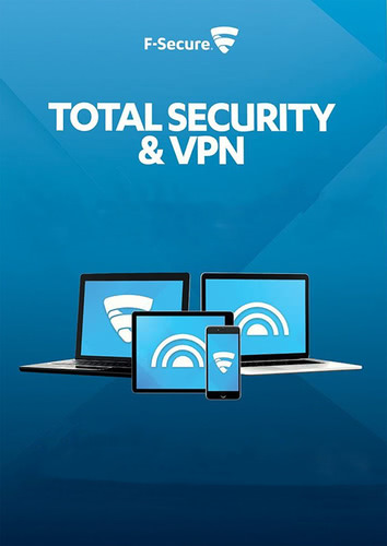 Packaging by F-Secure Total Security and VPN 2018 - 3 Devices / 12 Months [MULTIPLATFORM]