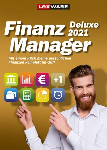 Verpackung von Lexware FinanzManager Deluxe 2021 [PC-Software]