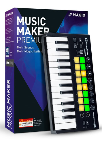 Verpackung von Magix Music Maker Performer (2017) [PC-Software]