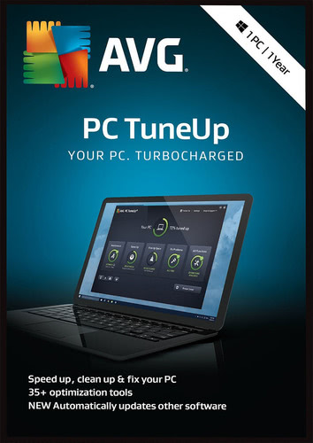 Packaging by AVG PC TuneUp 2018 1 PC / 12 months [PC-software]