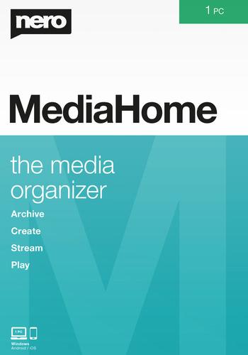 Verpackung von Nero Media Home [PC-Software]
