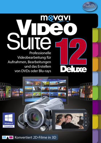 Movavi Video Suite 12 Deluxe (Download), PC