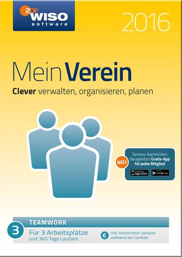 WISO Mein Verein 2016 – teamwork – Edition