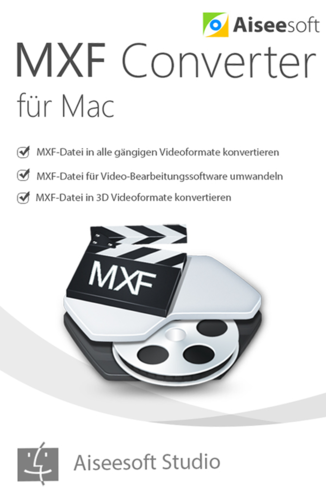 Aiseesoft MXF Converter Mac (Download), MAC